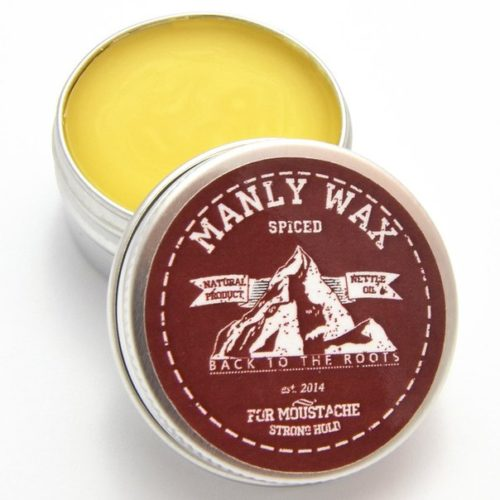 "Воск для усов и бороды MANLY WAX ""original"", spiced, 15 мл"